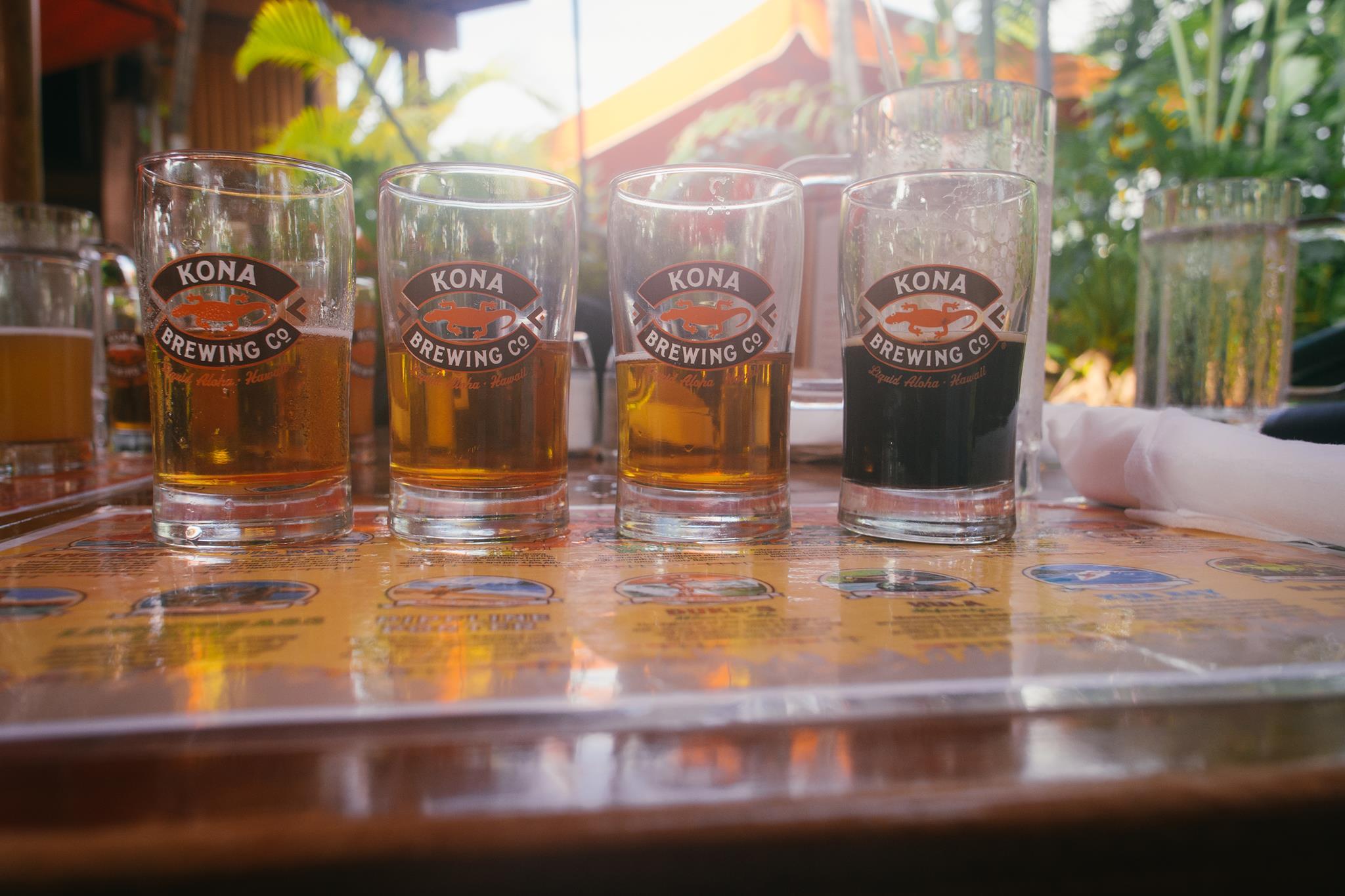 Kona Brewing Co. Craft Beer Hawaii Brewery Pub Beertasting