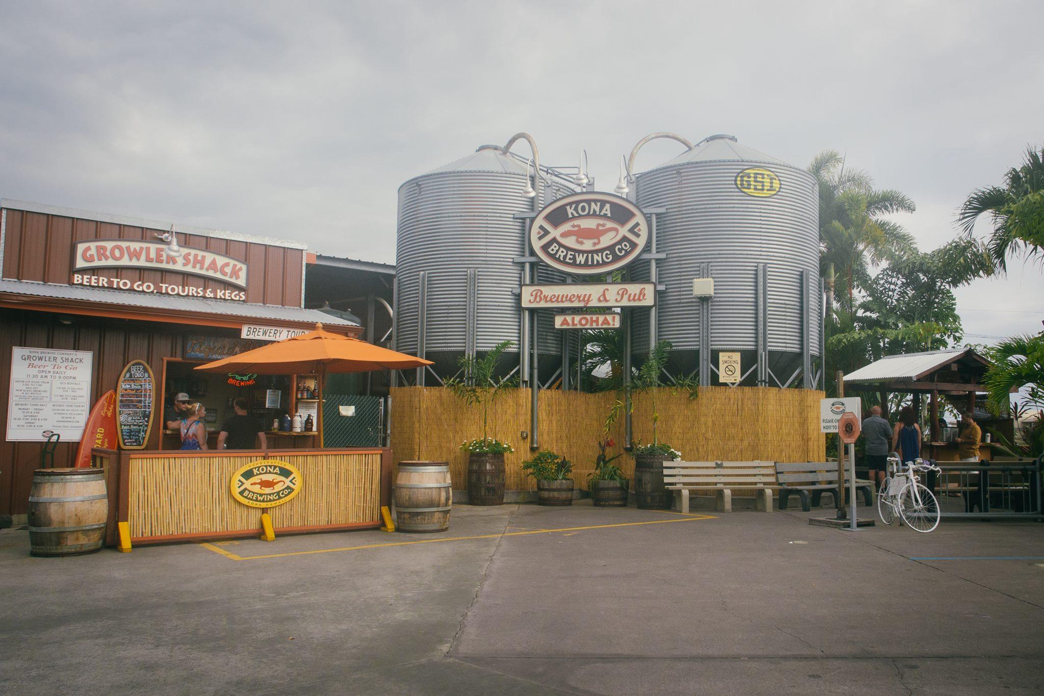 Kona Brewing Co. Craft Beer Hawaii Brewery Pub