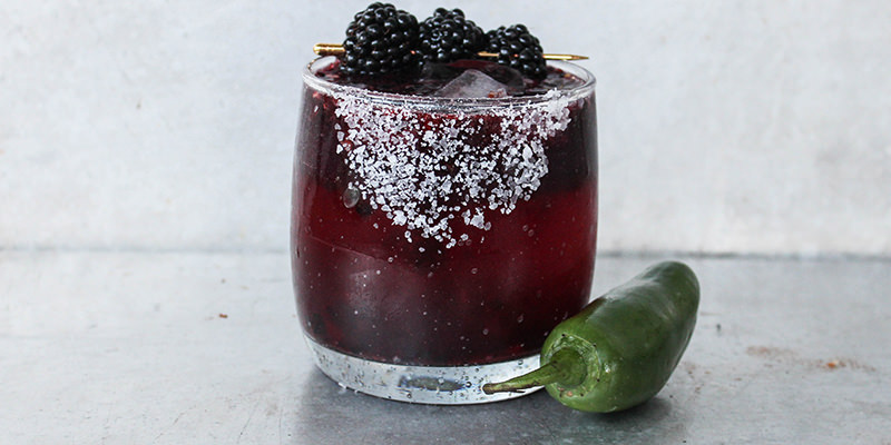 Beautifulbooze Cinco de Mayo Spicy Blackberry Magaritha