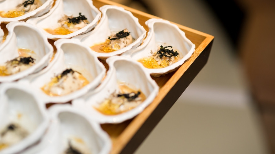Dom Pérignon House of Plénitudes Champagne Food Pairing Ferran Adria Oyster Seaweed