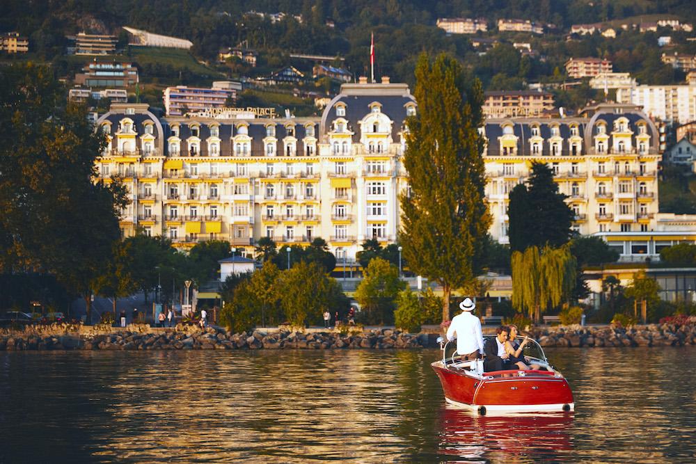 Fairmont Le Montreux Palace View Lake Geneva
