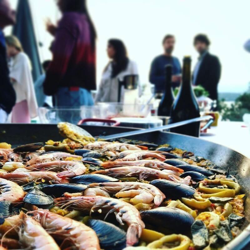 Les Ibériques Paella Spanish Delicatessen Import Catering Events Shop