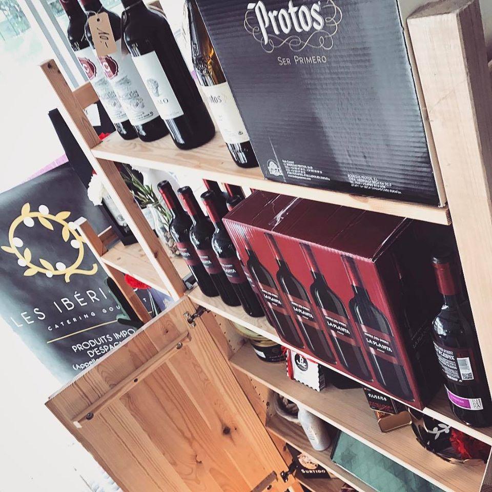 Les Ibériques Spanish Catering Wine