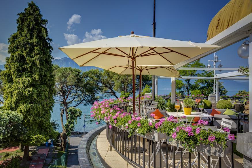 Fairmont Le Montreux Palace Luxury Hotel Switzerland Terrasse du Petit Palais