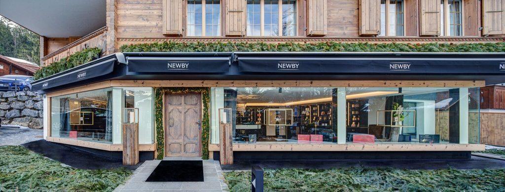 Newby Teas Switzerland Boutique Gstaad