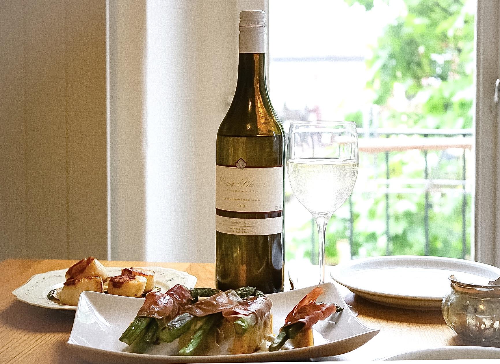 Domaine Blondel Cuvée Blondel Chasselas Lavaux Swiss Wine Food Pairing