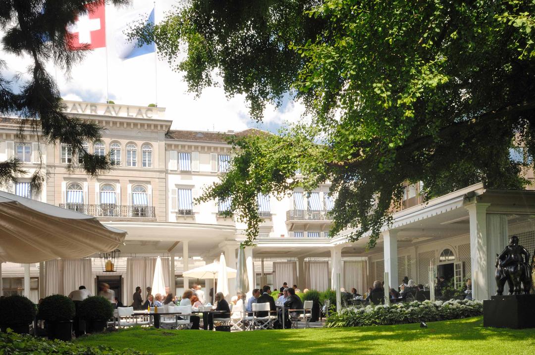 Swiss Deluxe Hotels Zurich Baur au Lac