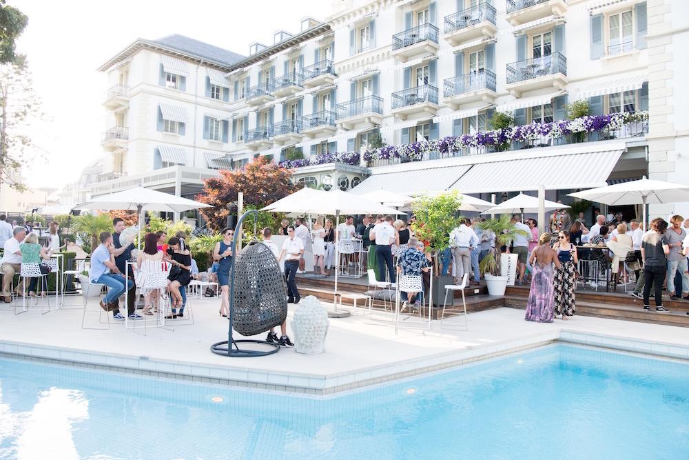 Buddha Bar Beach Grand Hotel du Lac Vevey Switzerland