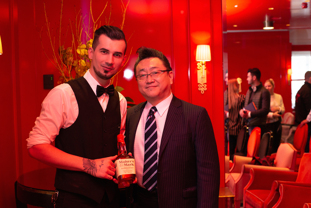 Maker's Mark Private Select Vienna Bar Community Special Edition Hidetsugu Ueno Ice Carving Workshop