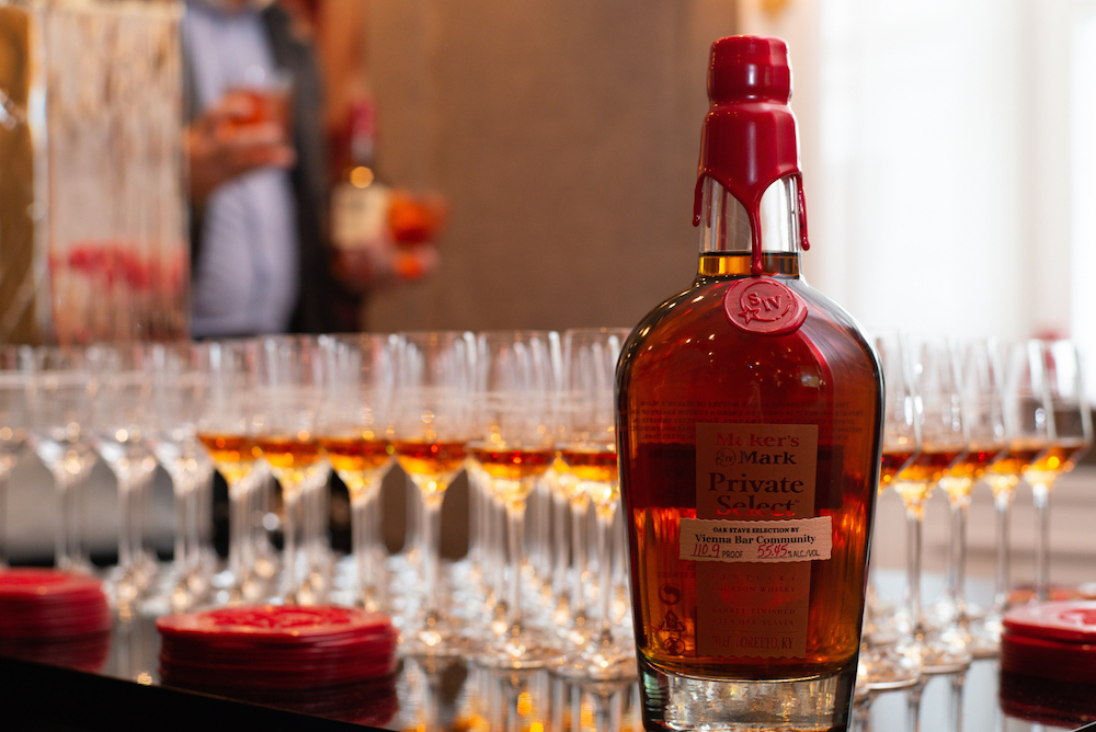 Maker's Mark Private Select Vienna Bar Community Special Edition