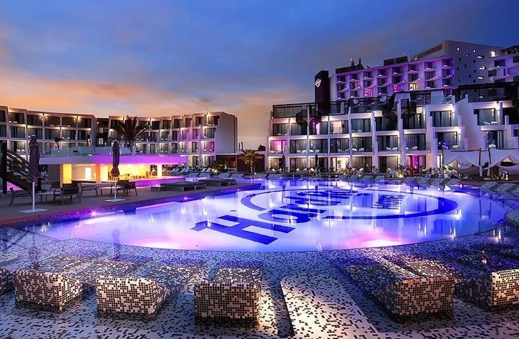 Hard Rock Hotel Ibiza Beach Club The Beach Bar Ushuaia
