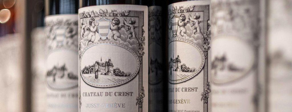 Domaine Chateau du Crest Jussy Geneva Winery