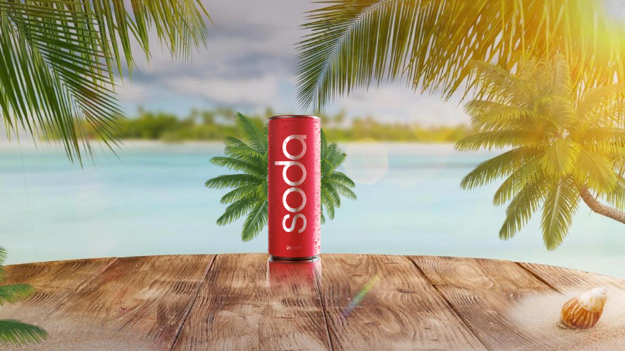 Paido Soda Low Calorie Vitamin Packed Soda