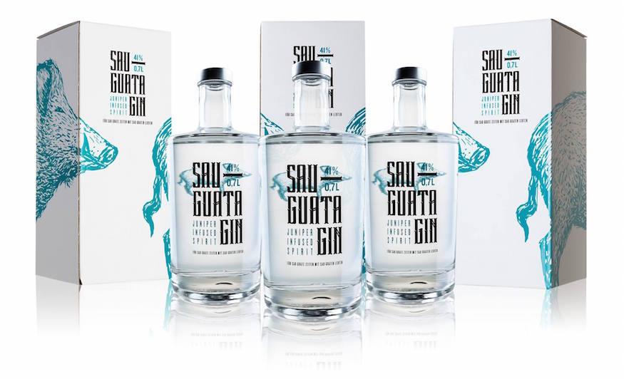 Sauguata Gin RSB Spirituosenerzeugungs OG