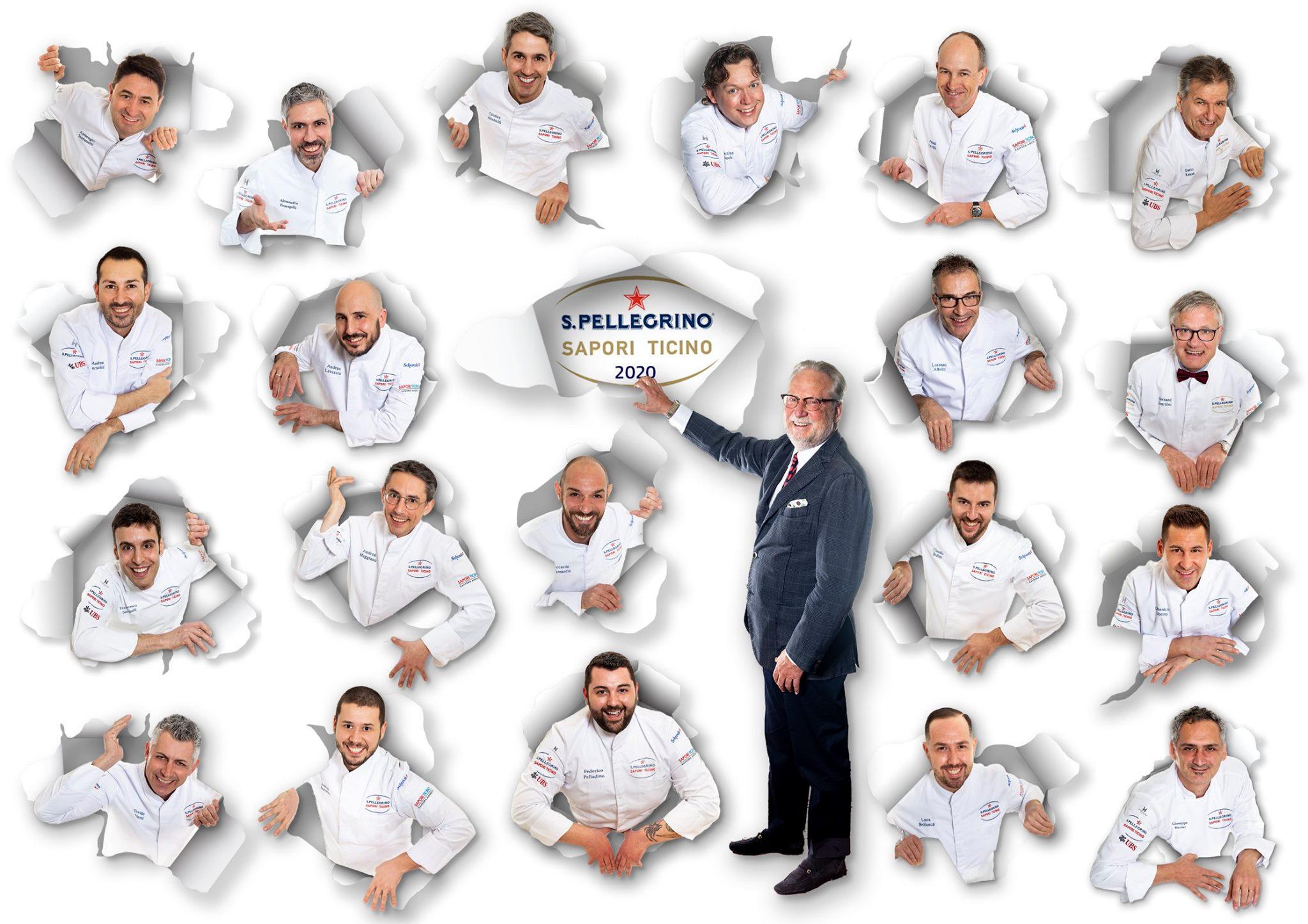 S.Pellegrino Sapori Ticino 2020 Chefs