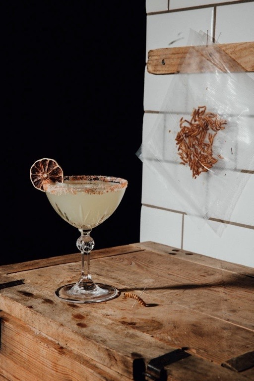 Andreas Lugmayr Barman Linz Mezcal Margarita Cocktail Recipe