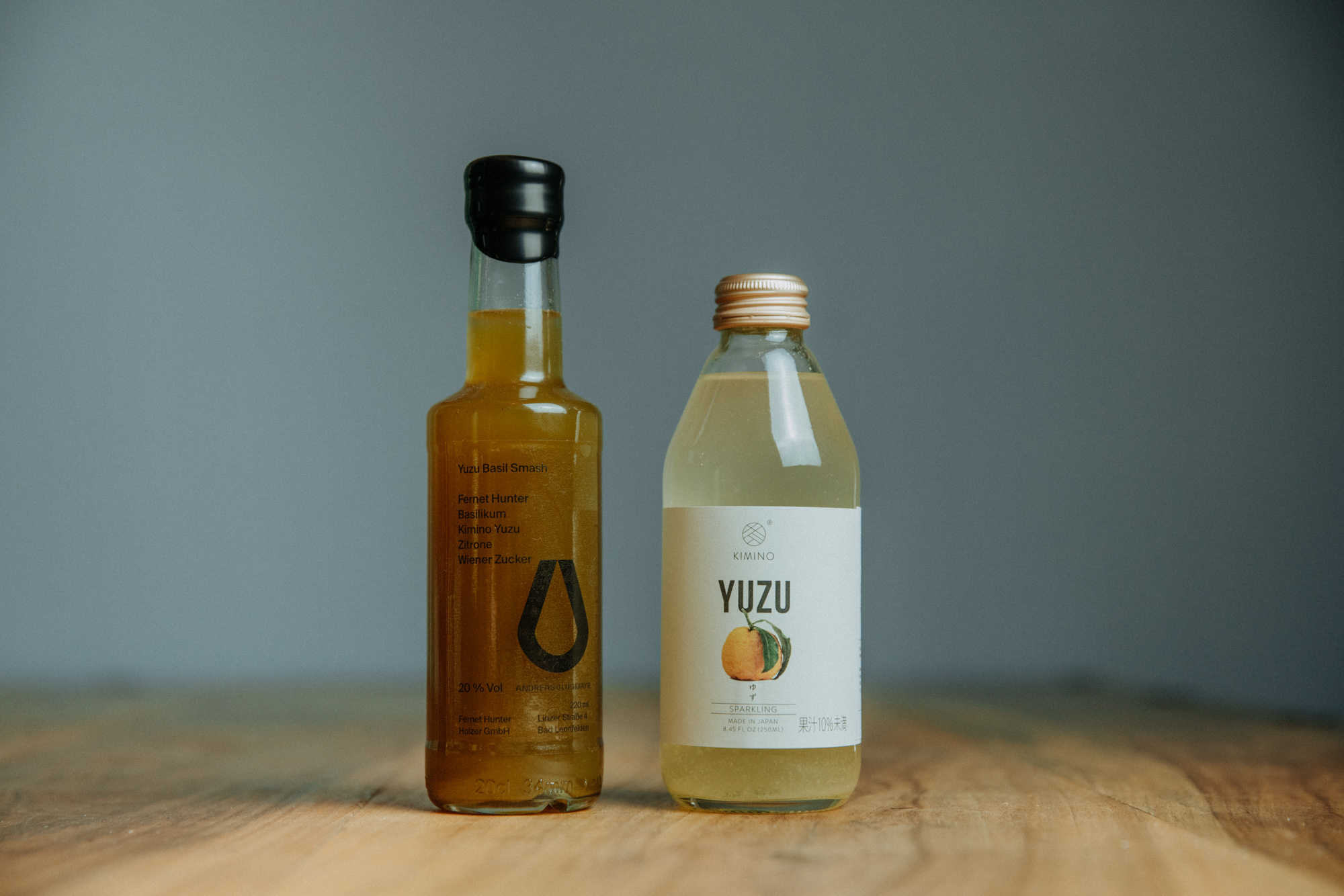 Andreas Lugmayr Bottled Cocktails Yuzu Basil Smash Kimino Abhohlen Lieferung Linz Österreich