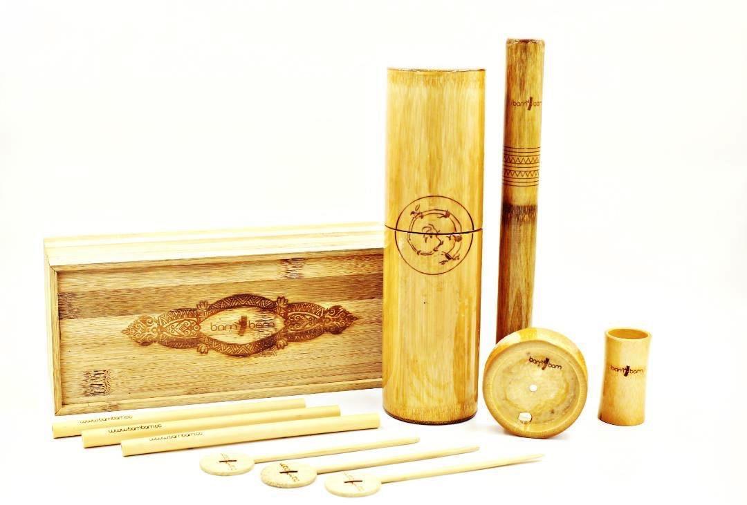 Bambam Barware Bamboo Shaker Stirrers Straws Tikki Mugs Innovative Sustainable Bartools