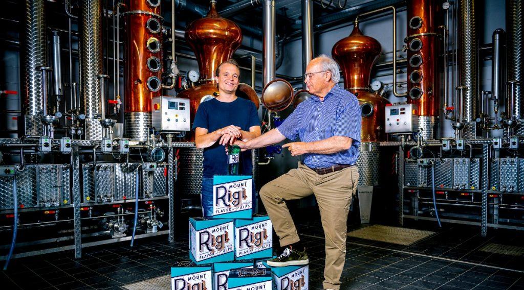 Mount Rigi Distillerie Founders Albert Tichelli Alexander Tichelli