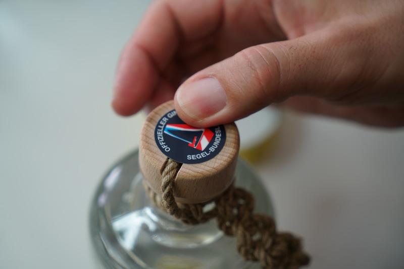 Purest Sail Gin Handmade Cork Wood Hemp Rope