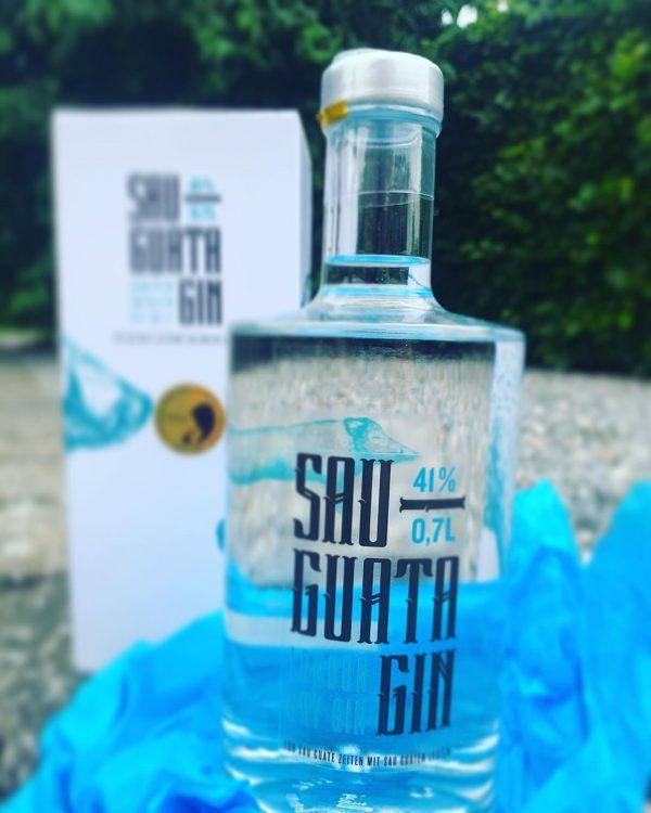 Sauguata Gin Premium Packaging