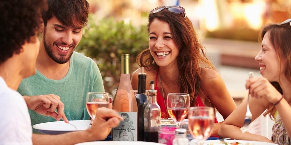 Wandering Grace: Organischer Premium Rosé Wein aus Marbella