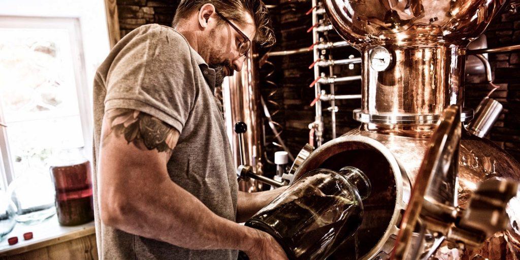 5020 Gin Handcrafted Salzburg Austria Distillerie Stephan Koudelka