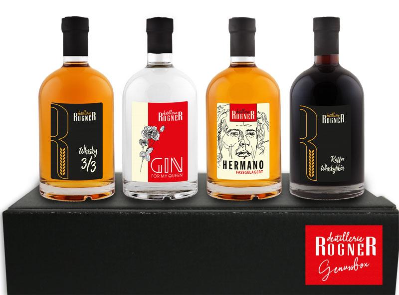 Destillerie Rogner Waldviertel Österreich Craft Spirits Tasting Box