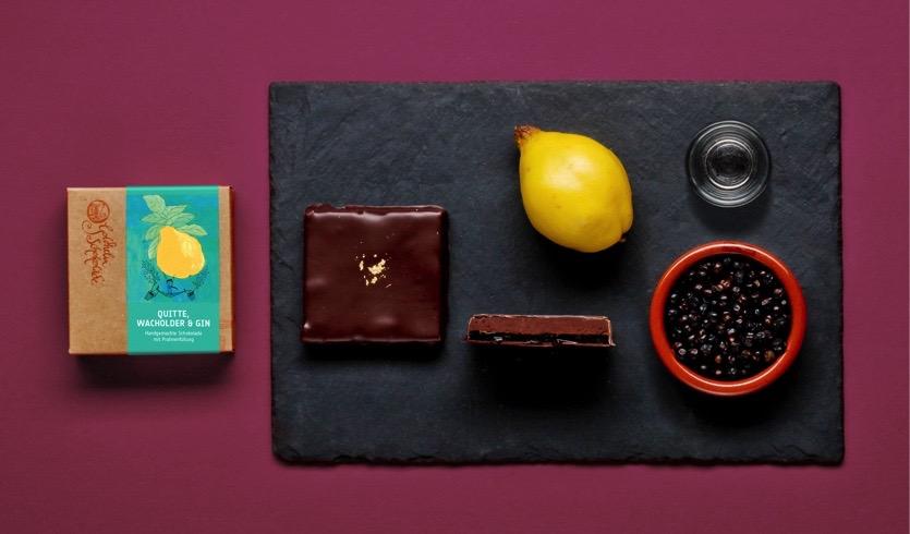 Goldhelm Schokolade Manufaktur Erfurt Thüringen Germany Ganache Chocolate Gin
