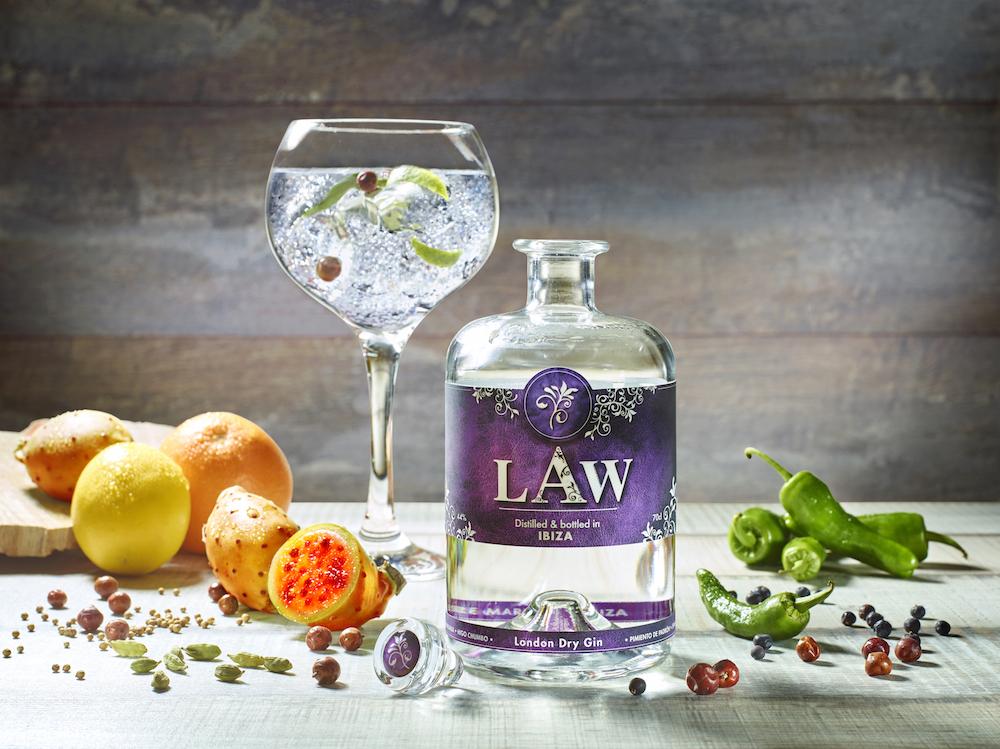LAW Gin Ibiza Organic Craft Gin