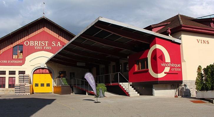 Maison Obrist Vevey Lavaux Switzerland