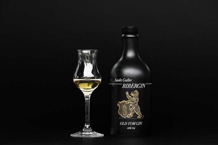 Old Tom Bibergin Sankt Gallen Craft Gin Schweiz