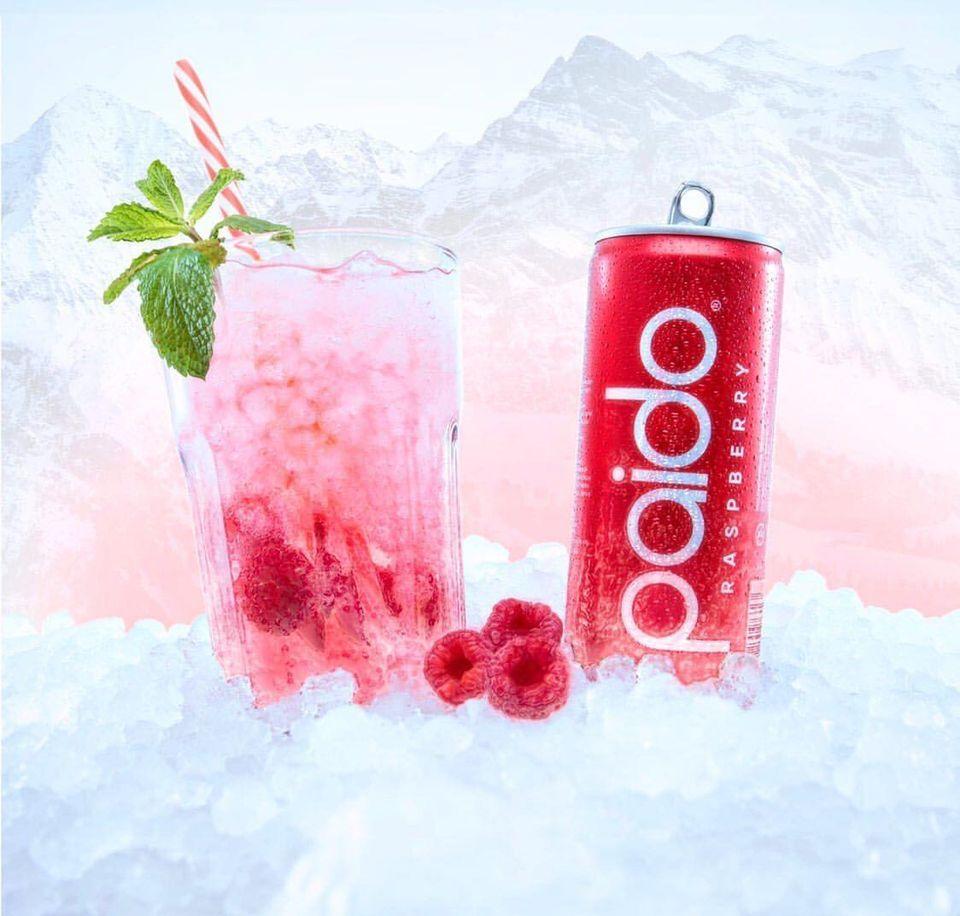 Paido Soda Raspberry Winter Switzerland