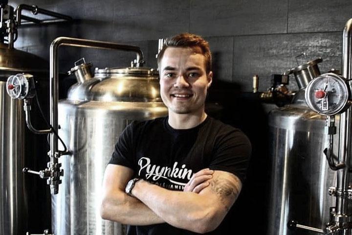 Samuli Peltonummi Head Distiller Pynnikin Distillery Pynnikin Brewhouse Tampere Photo kohokohdat.fi