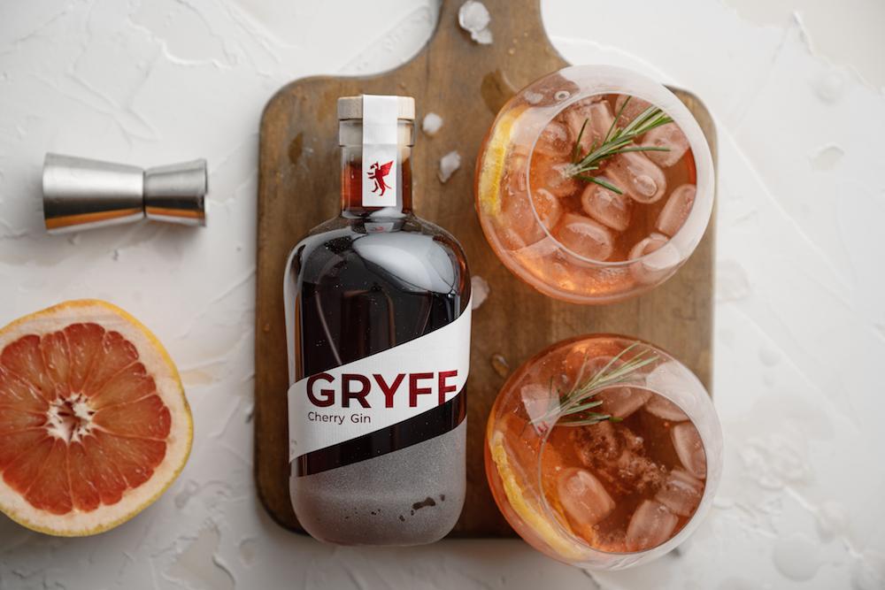 Gryff Gin Basel Dry Gin Cherry Gin Switzerland