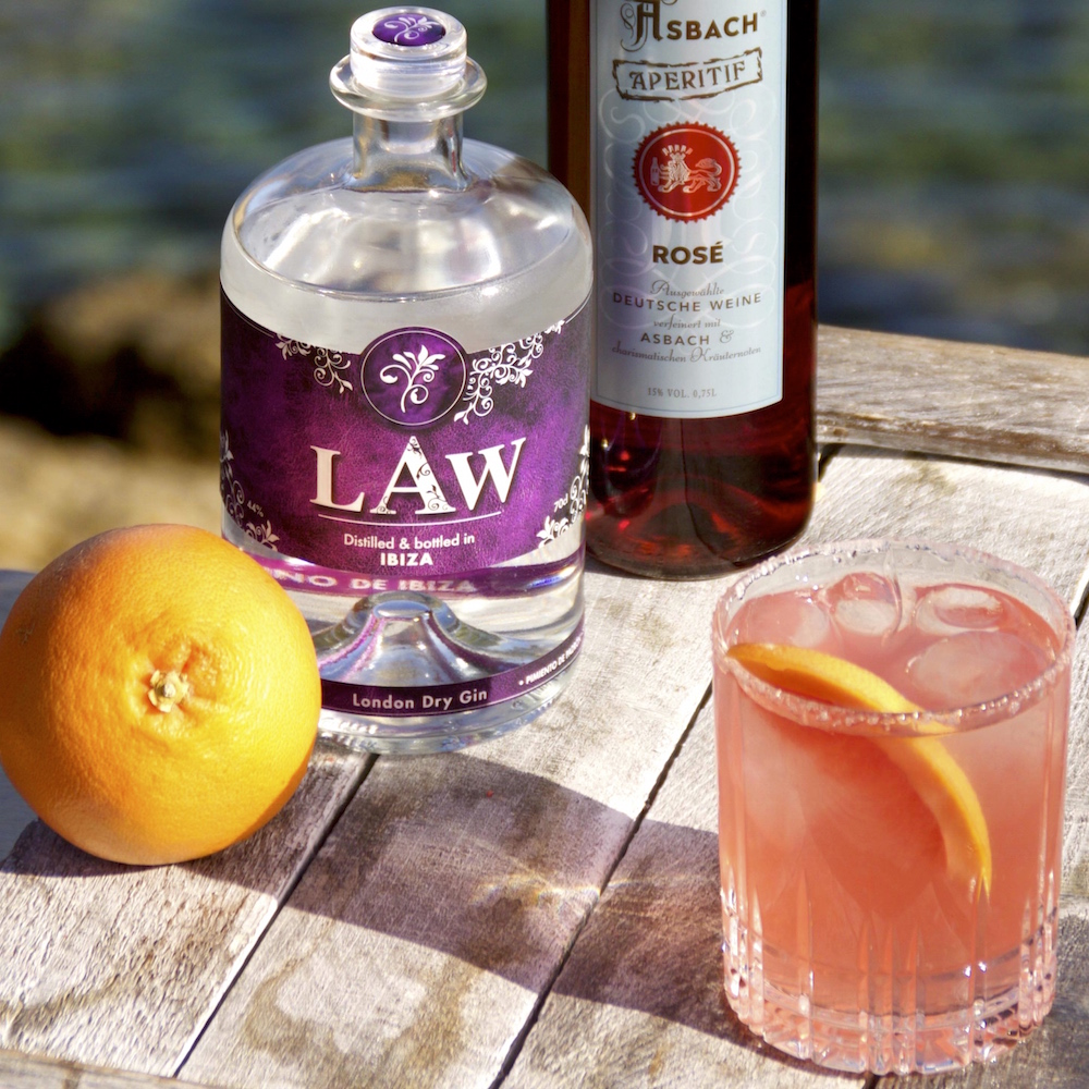 LAW Gin Cocktail LAW Salinas