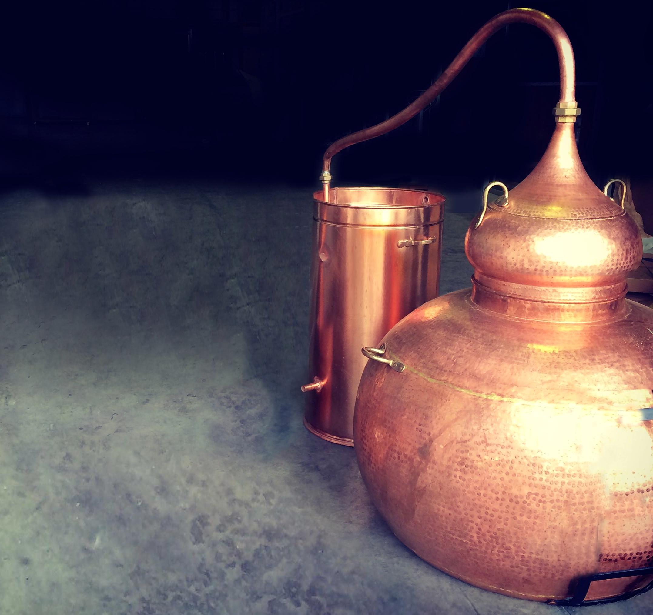 LAW Gin Ibiza Alembic Craft Gin