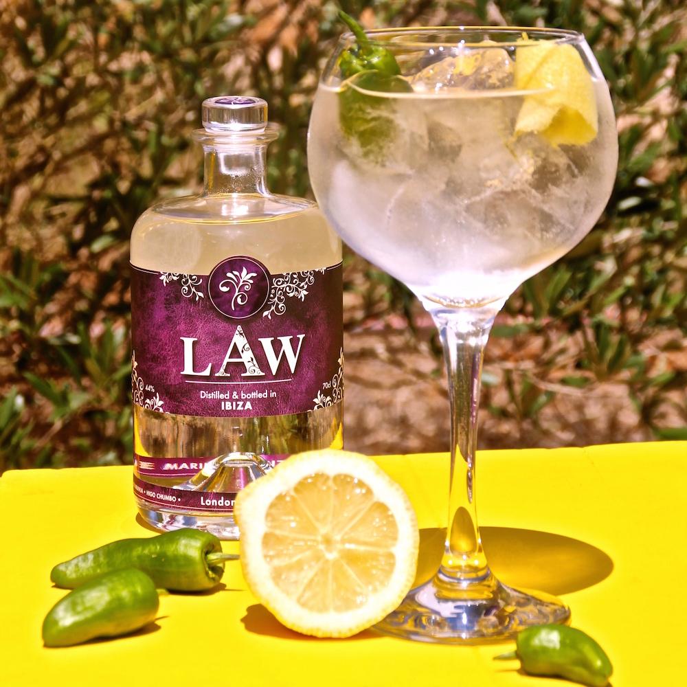 LAW Gin Tonic LAW & Tonic L&T El Pirata