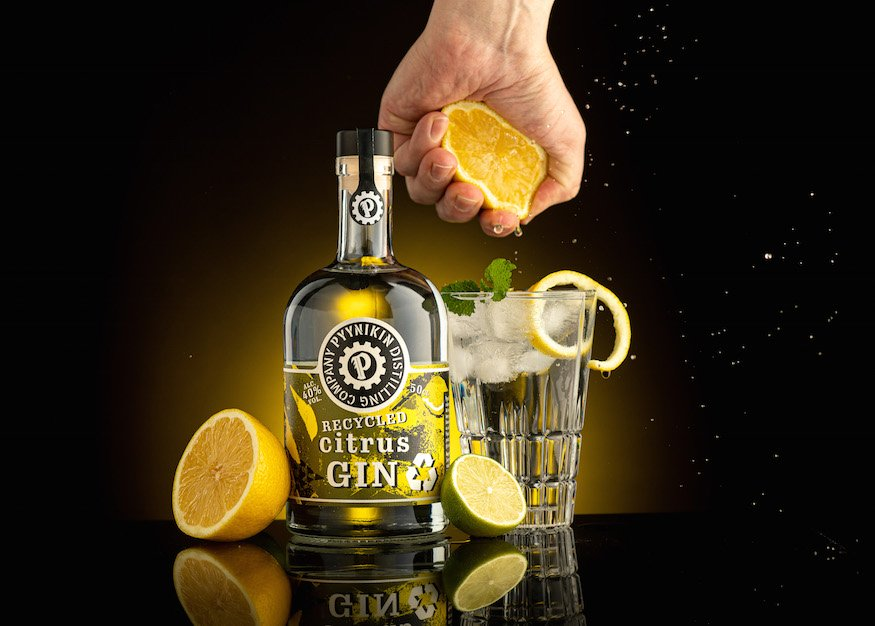 Pyynikin Distilling Company Spirits Division Pyynikin Brewery Finland Tampere Recycled Citrus Gin