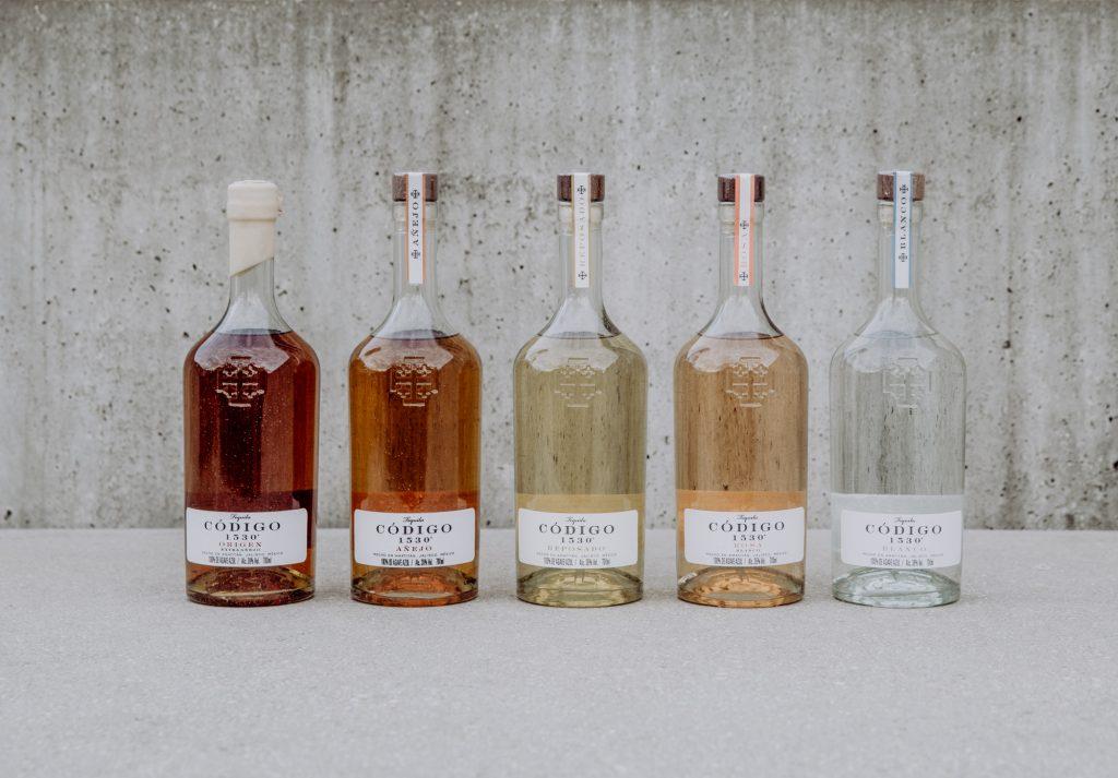 Codigo 1530 Tequila Full Range Blanco Rosa Reposado Anejo Origen