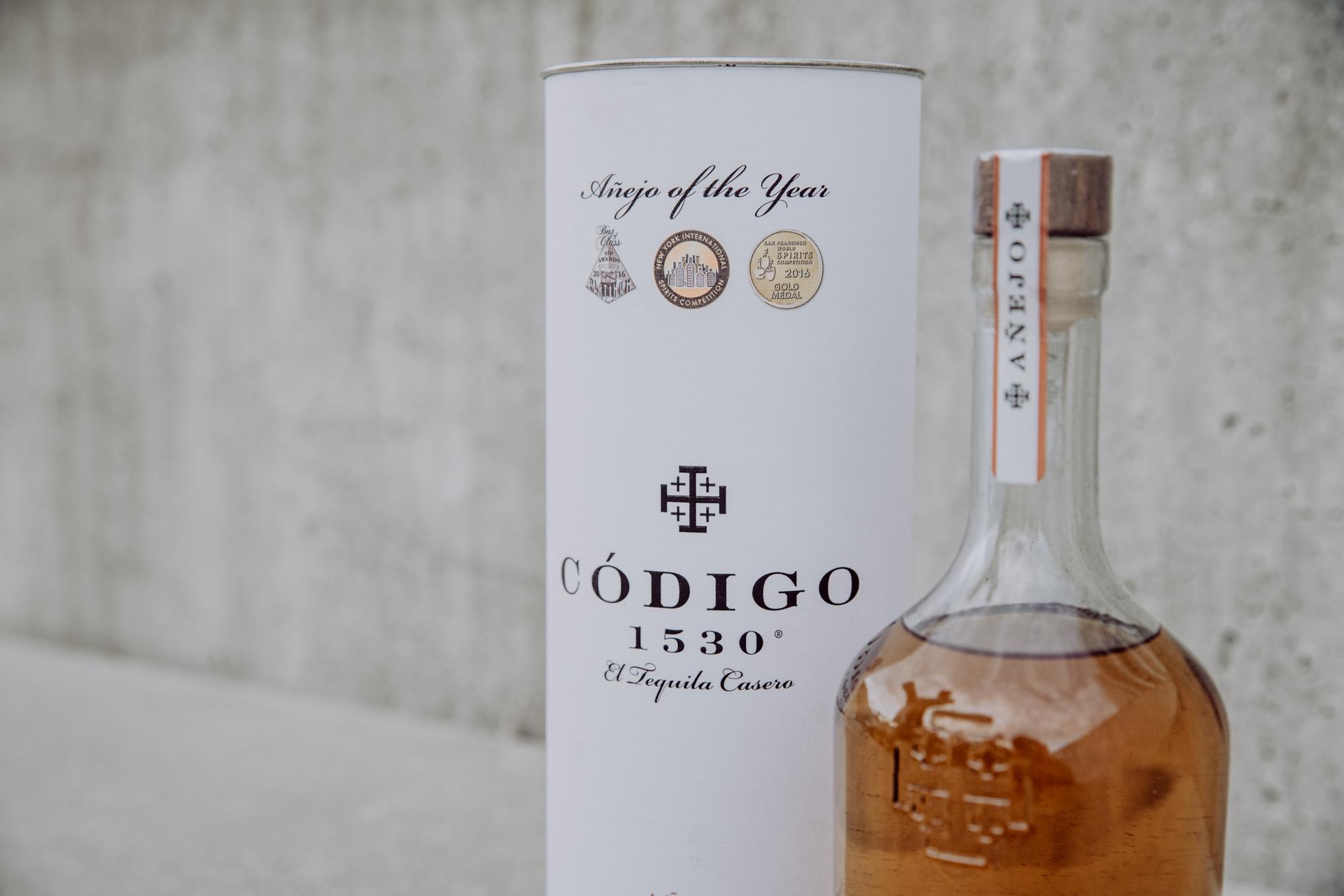 Codigo 1530 Tequila Mexico Codigo Anejo