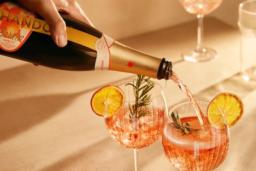 CHANDON GARDEN SPRITZ Fill glasses and toast!