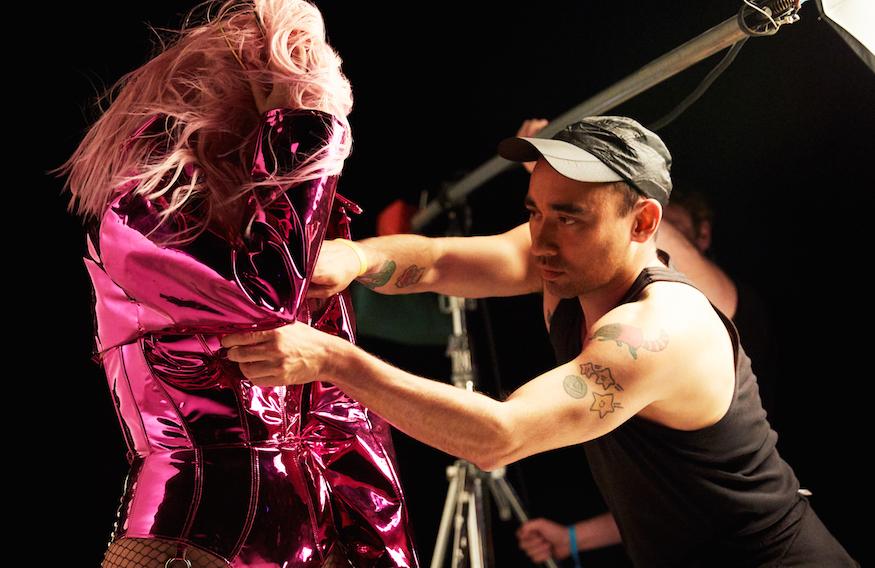 Dom Pérignon x Lady Gaga - Lady Gaga x Nicola Formichettii