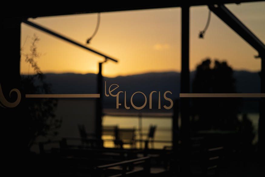 Le Floris by J-E. Hurstel Fusion Restaurant Geneva Entry