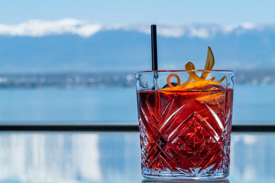 Le Floris by J-E. Hurstel Fusion Restaurant Geneva Lounge Bar Cocktails
