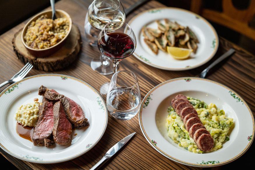 Le Floris by J-E. Hurstel Fusion Restaurant Geneva Ambiance La PInte