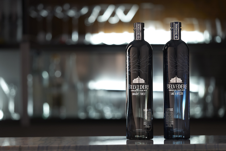 Belvedere Vodka The Single Estate Rye Vodkas