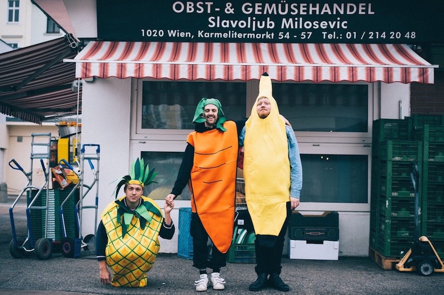 Gelinaz The Healthy Boy Band Vienna