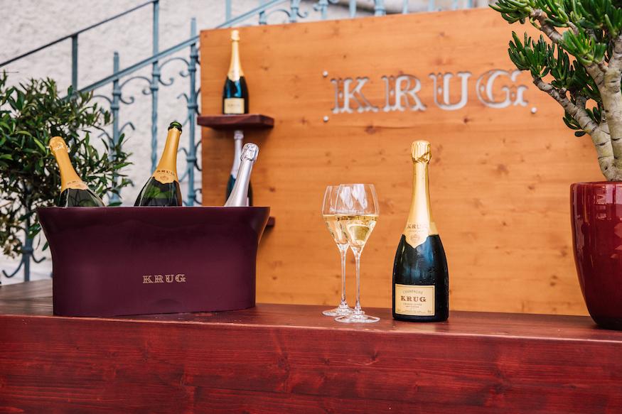 Krug Terrace Dolder Grand Champagne Bucket