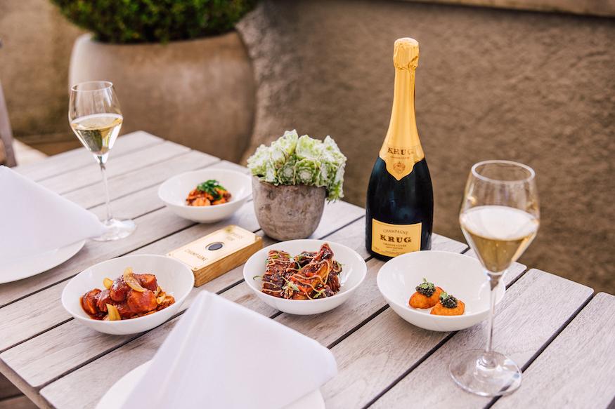 Krug Terrace Dolder Grand Food